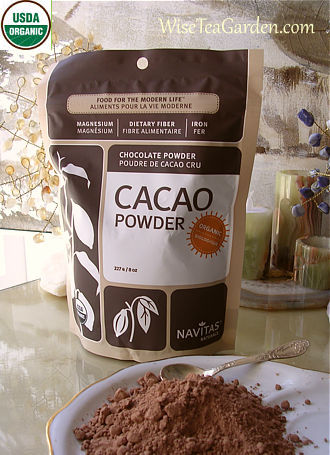 NAVITAS ORGANIC RAW CACAO POWDER