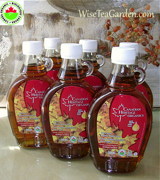 CANADIAN HERITAGE PURE ORGANIC MAPLE SYRUP